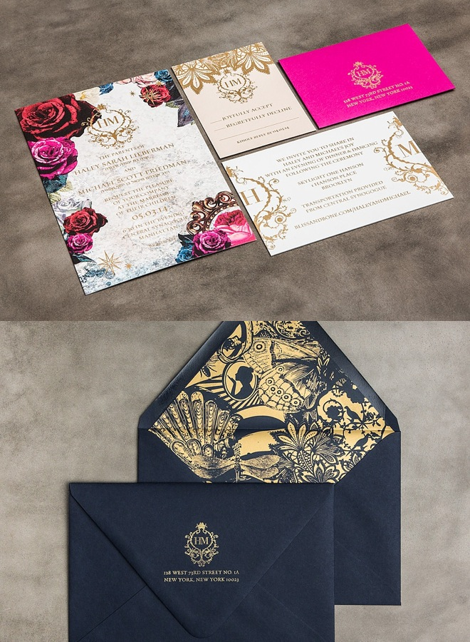 5 Elegant Wedding Invitations Electra Cruises