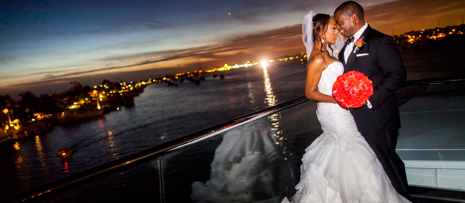 Wedding Reception On A Luxurious Yacht Cruising Newport Harbor